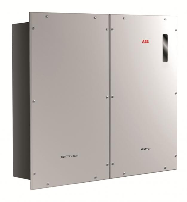 ABB REACT 2 Hybrid energy storage system
