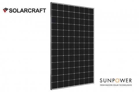 Solarcraft Sunpower Panels